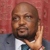 Good Political Things Are Obtained By Struggles - Kanga'ta To Moses Kuria On His Arrest