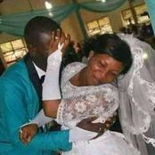 Why Is She Refusing To Kiss Her Husband?See People's Reaction To This Wedding Picture
