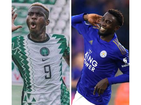 After Nigeria smashed Lesotho 3-0, see how much Wilfred Ndidi and Victor Oshimen received