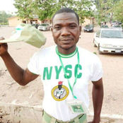 See The Face of Corps Member That Caused Mixed Reactions On Social Media (Photos)