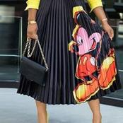Check out this bright and colourful trending skirts