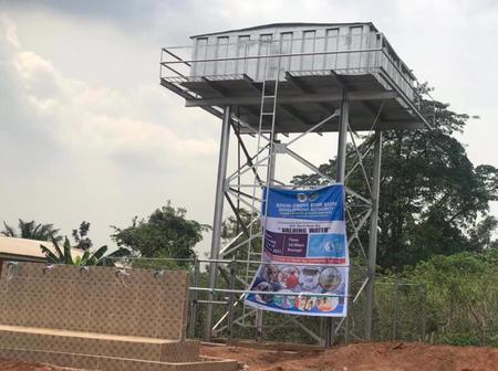 World Water Day: Dennis Idahosa Commissions Motorolized Solar Powered Borehole At Igo Community (