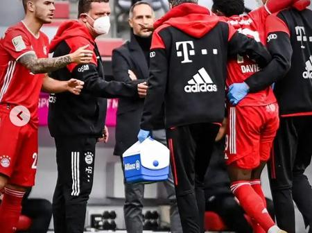 Injury Blow for Bayern Munich as One of Their Standout Players Was Helped Off the Pitch