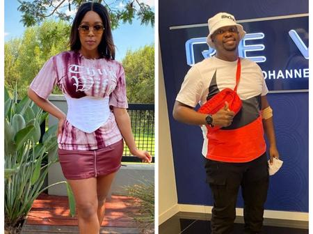 Minnie Dlamini left fans inspired with her friendship with Sphectacula over a heartwarming message
