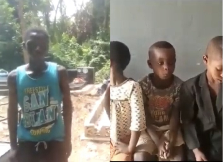 5b0b327e597f450b8d8982add719f82d?quality=uhq&resize=720 - Five Children Rescued From A Cemetary In Bekwai After Alleged 'Sakawa' Man Kidnapped Them; One Dead