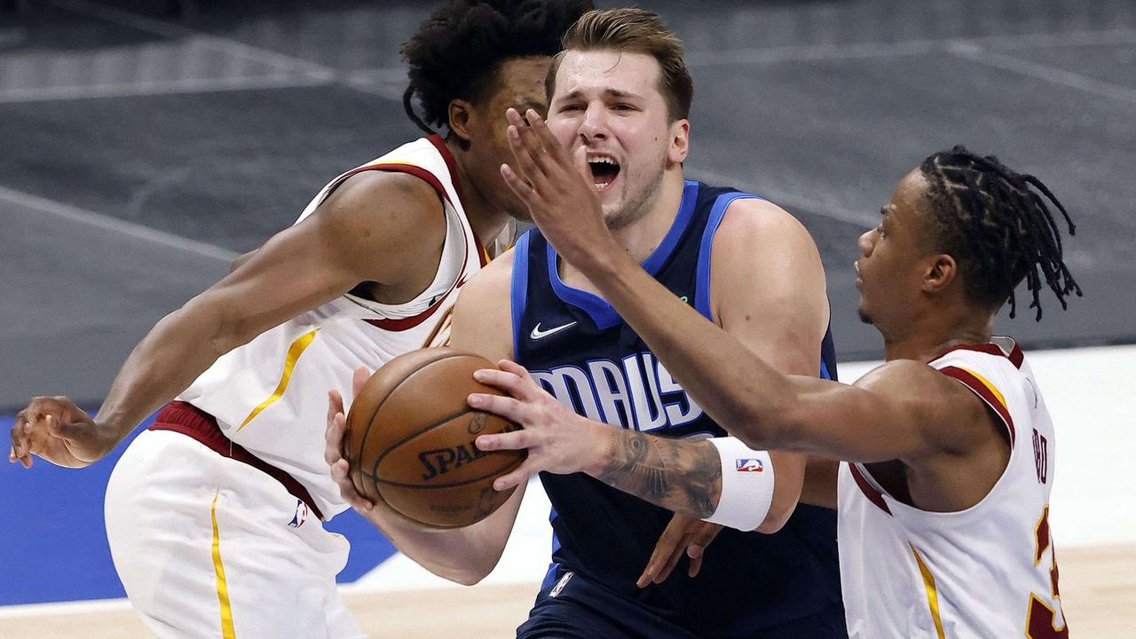 Mavericks' Luka Doncic ejected for flagrant-2 foul vs. Cavs, avoids automatic one-game suspension