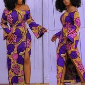 Beautiful stylish Ankara long gowns