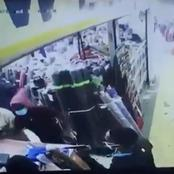 Armed Thugs Disguised As Customers Rob A Woman In Easltleigh In Broad Daylight - Video