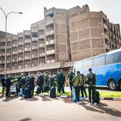 PICTURES: Kaizer Chiefs Arrives in Burkina Faso!