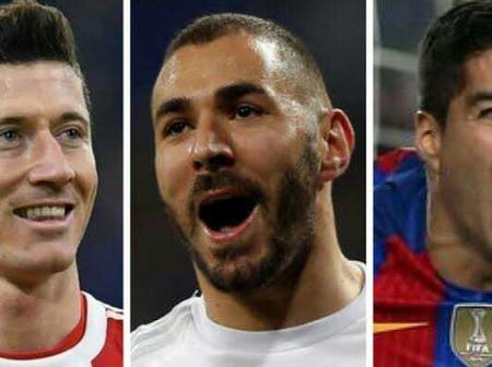 Three Most dangerous strikers in the world.