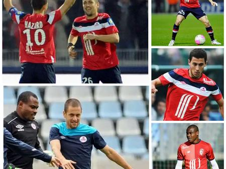 Throwback Photos Of Hazard, Vincent Enyeama And Joe Cole At Lille