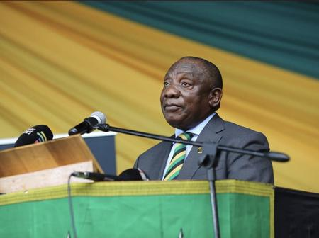 President Ramaphosa is on a quest to reinstall dignity and end corruption in SA.