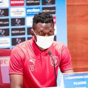 'Good Luck in Asian Champions League' Reactions After Olunga Posted This On Facebook