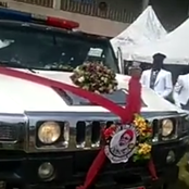 Sad News: As The Popular Nollywood Actor Is Laid To Rest. See Photos From His Burial Ceremony.