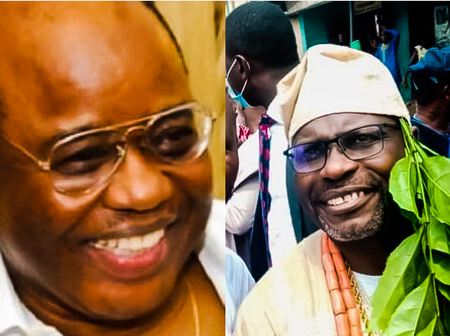 Check Out Photos As Successor Is Installed For Late Chicago Billionaire, Harry Akande