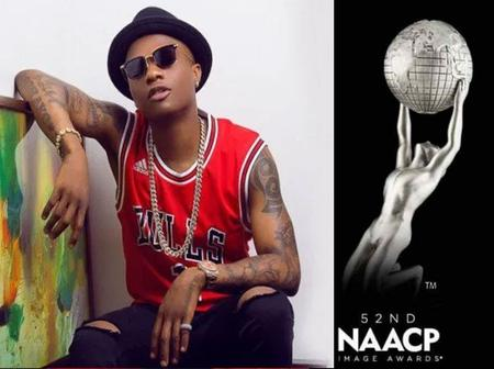 Wizkid Wins The NAACP Award For The Second Time