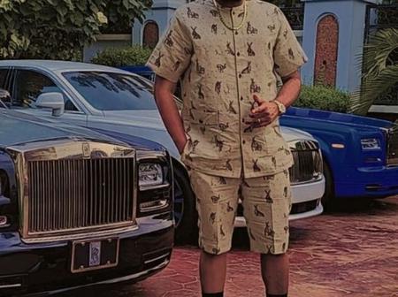 Popular Nigerian Billionaire, E-Money Shows Off His 3 Customized Rolls Royce Cars, Says