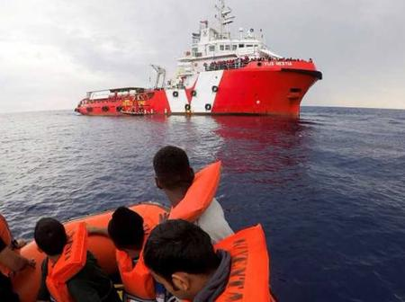 Migrants Drown At The Coast After Their Boat Capsized