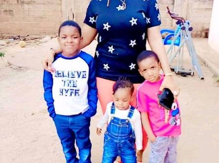Reactions As A Nigerian Lady Claims She Is 21 Years Old With Four Grown Kids