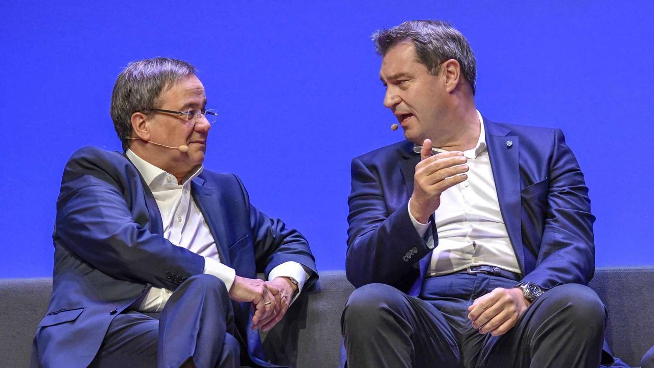 Söder und Laschet entscheiden über Wahlprogramm - Erste Details zum Thema Steuern sickern durch