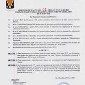 Scrutin législatif du 06 mars : le maire de Bouaké ferme tous les marchés