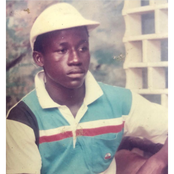 Popular actor shares throwback photo of him wearing a shirt he bought for N80