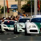 Some Of The Cars Driven By The Police Force of Dubai Which Are Worth Millions & Millions of Rands.