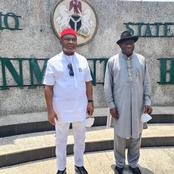 Photos: Former President Goodluck Jonathan Visits Governor Hope Uzodimma In Imo State