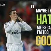 Best Quotes On Ronaldo By Football Legends