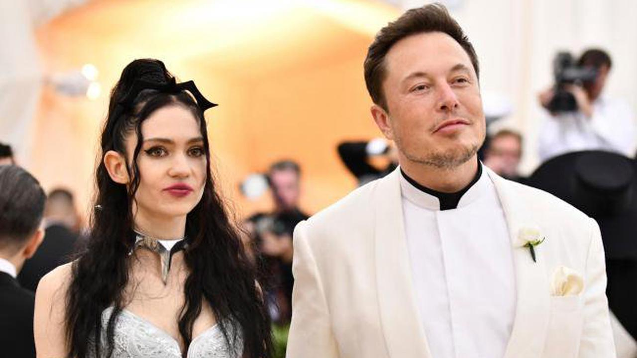 Elon Musk and singer Grimes 'semi-separated'