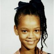 Flashback: Childhood And Current Photos Of Rihanna That Tell She Was Born From A Humble Home.