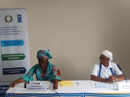 Sortie de crise: La Coalition des Femmes Leaders fait des propositions