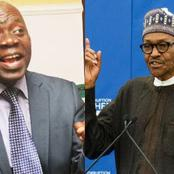 President Buhari Wasn't Arrested For Asking Jonathan To Resign - Falana Blows Hot Again.