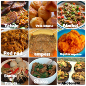 Some wonderful Ghanaian made dishes to try at home this festive. Fufu, banku, Akotonshi.