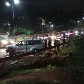 Night Tragedy As Two People Are Allegedly Hit By A Vehicle Along Waiyaki Way