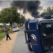 Cash In Transit Heist:Robbers Allegedly Crashed into Fedelity Money Truck And took off With Cash