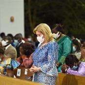 Cocody/Rivera Golf: La Première Dame offre 25 millions Fcfa à la paroisse Notre-Dame de la Tendresse