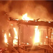 Fire Sets In Potiskum Central Market, Destroy Shops And other valuables worth Millions of Naira