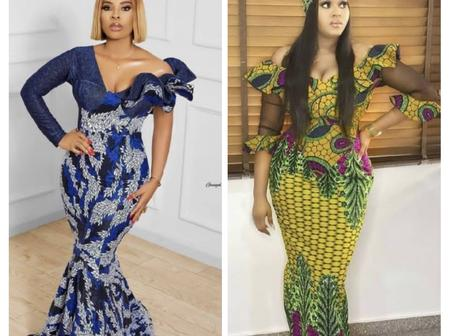7 Gorgeous Ankara Long Gown Styles For Every Beautiful Woman Ahead Of Easter