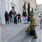 Ngozi Okonjo-Iweala Showcases Nigerian Culture As She Slays In Ankara On Resumption As WTO Boss