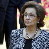 «أمر ما» أحزن سوزان مبارك فى احتفالات ذكرى نصر أكتوبر 2015