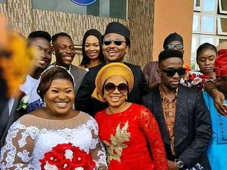 Mercy Chinwo, GUC and Others present as Judikay Marries her Heartrob.