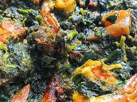 Easy Method On How To Prepare Delicious Afang Soup.