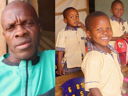 Nigerian pastor turns his local church into a school to help his community.