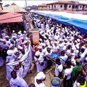 [VIDEO] Joyful Celebration Yesterday As Crowd Flood The Street To Welcome Prophet Ogundipe To Church