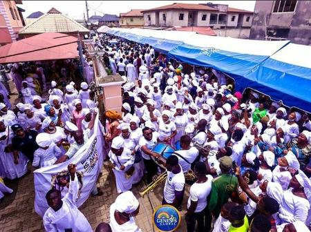 [VIDEO] Joyful Celebration Yesterday As Crowd Flood The Street To Welcome Prophet Ogundipe To Church