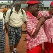 Check Out Photos of Mr Ibu, Regina Daniels And Other Nigerian Celebrities In School Uniform