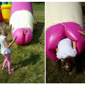Seven Awkward Children Playgroud That Resembles Another Thing Entirely