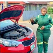 After second look, people called for arrest of female mechanic