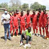 Chris Kirubi Shows His Support For Grassroot Football Clubs
